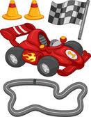 Race Car Elements — Stock Photo