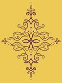 Ornamental Swirls — ストック写真