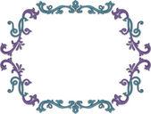 Floral Vine Frame — Stockfoto