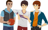 Teens Hanging Out — Stock Photo
