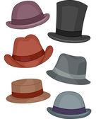 Men's Hats — Stock Photo