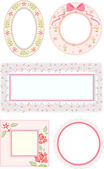 Shabby Chic Frames — Stock Photo