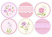 Labels with a Shabby Chic Design — Stock Photo