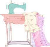Treadle Sewing Machine — Stock Photo
