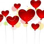 Valentine Balloons — Stock Photo #7475919