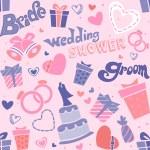 Wedding Shower Seamless — Stock Photo #7477397