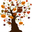 Halloween Tree — Stock Photo #7600131