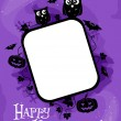 Halloween Frame — Stock Photo #7601532