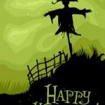 Halloween Scarecrow — Stock Photo #7601792