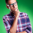 Handsome young man thinking — Stock Photo #12561473