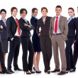 Successful happy business team — Stock Photo