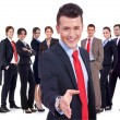 Successful business team — Stok fotoğraf
