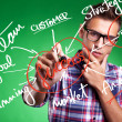 Business man writing success concepts - Stock Photo