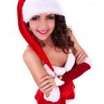 Smiling young christmas girl — Stock Photo #13515838