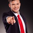 Business man pointing — Stock Photo #13823894