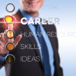 Career, teamwork, human resources, skills, ideas - Foto de Stock