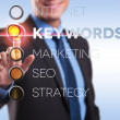 internet, seo, marketing, keyword, strategy — Stock Photo