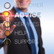 advice, customer, services, help, support — Stock Photo