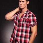 Handsome fashion man posing — Stock Photo #15362701