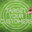 Target your customers - Stock Photo