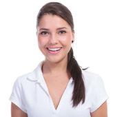 Casual woman smile portrait — Stock Photo