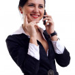 Speaking on the phone — Stock Photo #2993025