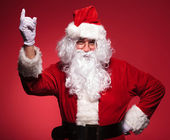 Santa claus is having a great idea — Stock Photo