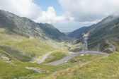 Transfagarasan pass from Fagaras mountains — Stock Photo