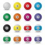Billiard balls — Stock Vector #46211963