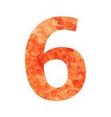 6 land number — Vecteur