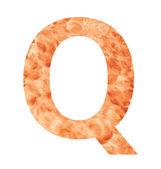 Q land letter — Vecteur