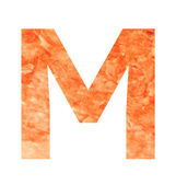 M land letter — Vector de stock