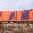 Uluru - Ayers Rock - Stock Photo