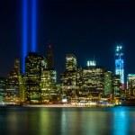 WTC memorial: Tribute in Light — Stock Photo #12762656