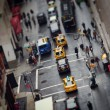 New York City rush hour - Stock Photo