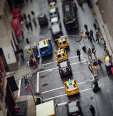 New York City rush hour — Stock Photo