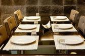 Dinner table — Stock Photo