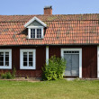 Swedish cottage — Stockfoto