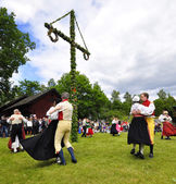 Folklore ensemble of Sweden — Stockfoto
