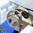 Speedboat close up — Stock Photo