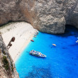 Navagio in Zakynthos, Greece - Stock fotografie