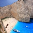 Navagio in Zakynthos, Greece - Foto de Stock