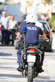 греческая полиция — Стоковое фото