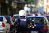 希腊警方 — 图库照片