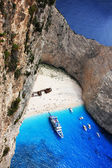 Navagio in Zakynthos, Greece — Stock Photo