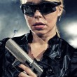 Special  tactics woman - Stock Photo