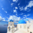 Greek orthodox church - Stock Photo