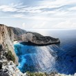 Navagio in Zakynthos, Greece — Stock Photo #13756493
