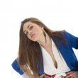 Business woman. Isolated — Stock Photo