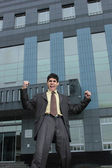 Successful business man — Stock Photo